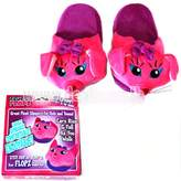 Fluffy Flopz Plush Slippers for Kids and Teens Ears Rise and Fall as You Walk