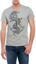 Cult of Individuality Anchor V-Neck Tee