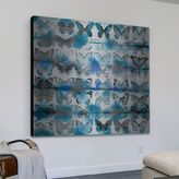 Parvez Taj Powder Blue Wings Aluminum Wall Art