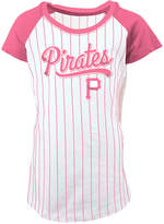 5th & Ocean Pittsburgh Pirates Pinstripe T-Shirt, Girls (4-16)