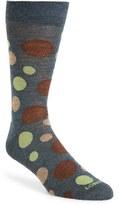 Lorenzo Uomo Men's 'Scatter Dots' Socks