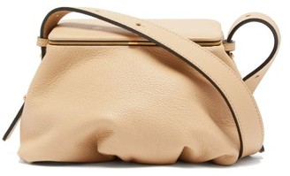 BEIGE Lutz Morris - Bates Small Grained-leather Shoulder Bag - Womens