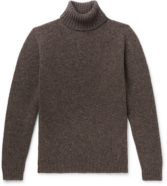 Melange Home Shetland Wool Rollneck Sweater