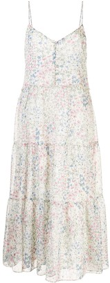 R 13 Tiered Floral Dress