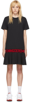 Opening Ceremony SSENSE Exclusive Black OC Logo T-Shirt Dress