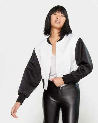 3.1 Phillip Lim Romantic Contrast Bomber Jacket