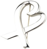 Tiffany & Co. 925 Sterling Silver Paloma Picasso Large Heart Pin Brooch