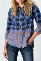 Miss Me Long Sleeve Flannel Top