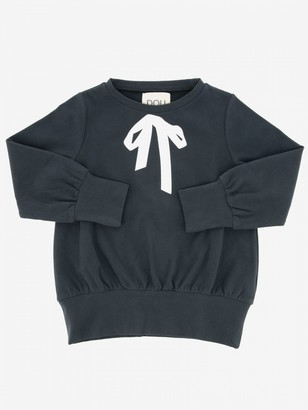 Douuod Crewneck Sweatshirt With Bow Print