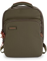 Slim Touch Faux Leather Backpack