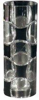 Dale Tiffany GA80042 Rocky Black Decorative Vase, 4-1/4-Inch by 11-3/4-Inch