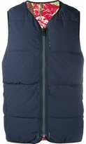 Visvim 'Kuba' reversible down vest - men - Cotton/Feather Down/Nylon - 2