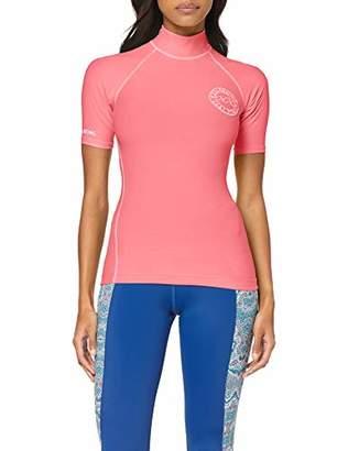 Billabong Women's Logo in Ss Swim Shirt - - 6 (Manufacturer size: Small)