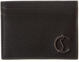 Christian Louboutin M Kios Leather Card Holder