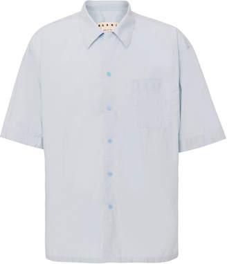 Marni Classic Blue Short Sleeve Shirt