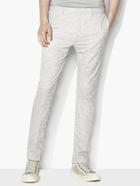 John Varvatos Paisley Trousers