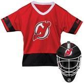 Franklin Sports Youth Franklin New Jersey Devils Goalie Face Mask & Jersey Set