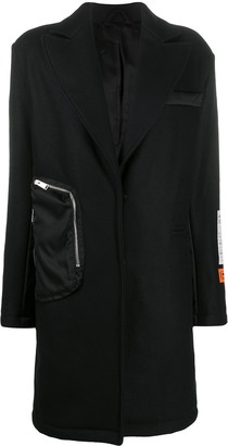 Heron Preston Oversized Wool Coat