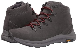 Merrell Ontario Suede Mid (Charcoal) Men's Shoes