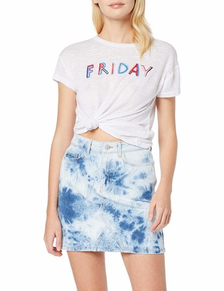 New Look Women's Tie Dye Mom Skirt