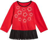 First Impressions Stars Tulle-Hem Tunic, Baby Girls, Created for Macy's