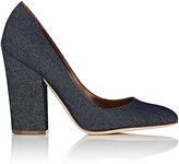 Sergio Rossi Women's Virginia Denim Pumps-BLUE