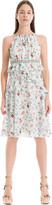 Max Studio Floral Printed Georgette Dress