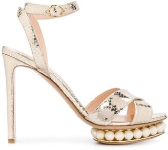 Nicholas Kirkwood CASATI platform sandals 105mm