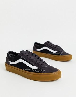 Vans Style 36 sneakers in khaki/black