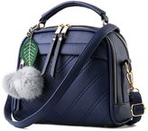 Allway store Women Portable Crossbody Handbag with Leather Chain Strap Tote Bag