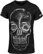 Religion Bump Print Tshirt Black