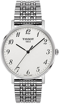 Tissot T1094101103200 T-classic Everytime Bracelet Strap, Silver/white