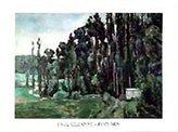 Cezanne 1art1 Posters: Paul Poster Art Print - Poplars (32 x 24 inches)