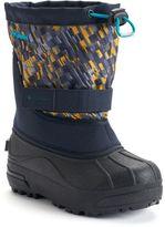 Columbia Powderbug Plus II Print Boys' Waterproof Winter Boots