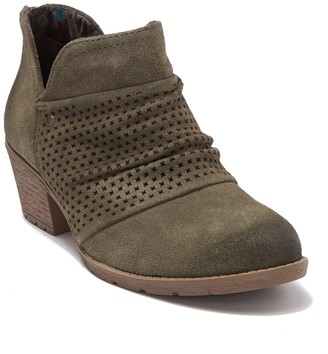 Earth Origins Amanda Suede Ruched Boot