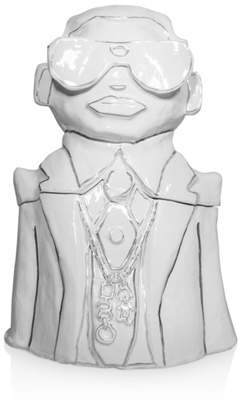 Karl Lagerfeld Paris 2-Piece Lidded Cookie Jar