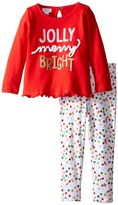 Mud Pie Jolly Tunic & Leggings Set (Infant)