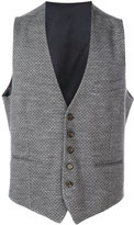 Eleventy textured waistcoat