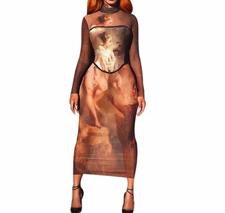snake cat Women Sexy Bodycon Dresses