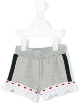 MonnaLisa Broderie Anglaise trim shorts