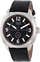 ESQ by Movado ESQ Movado Men's 07301410 esq Excel tm Arabic Leather Strap Watch