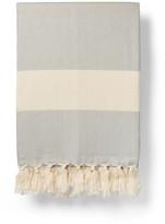 Luks Linen Ferah Blanket Dove Grey