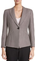 Armani Collezioni Women's Mini Herringbone Jacket