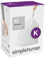 Williams-Sonoma Williams Sonoma simplehumanTM; (K) Custom Fit Trash Can Liners, 60pk