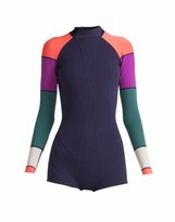 Cynthia Rowley Lightweight Color Block Wetsuit