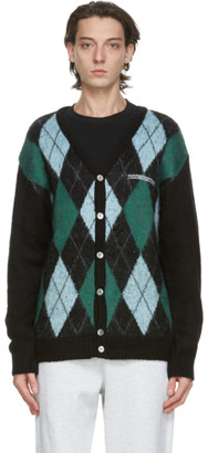 This Is Never That thisisneverthat Black Argyle Cardigan