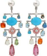 IRENE NEUWIRTH JEWELRY Mixed Charm Earrings