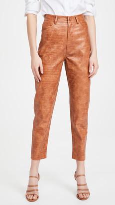 Divine Heritage Vegan Leather Trousers