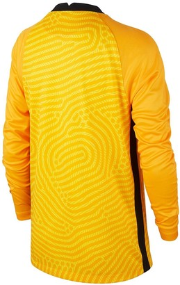 Nike Junior England Euro 20 Home Goal Keeper Long Sleeve Stadium Shirt - Yellow