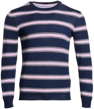Saks Fifth Avenue MODERN Striped Merino Wool Sweater